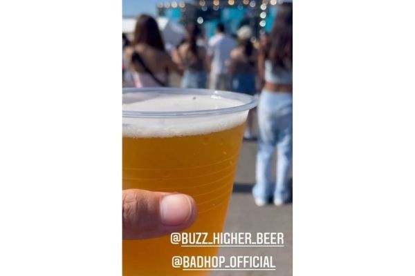 BAD HOPのビール